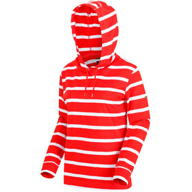 Regatta Magdelina Midlayer Dames, fiery red stripe/white